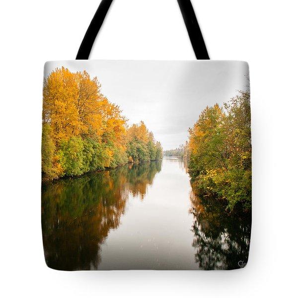 Courtenay River Tote Bag