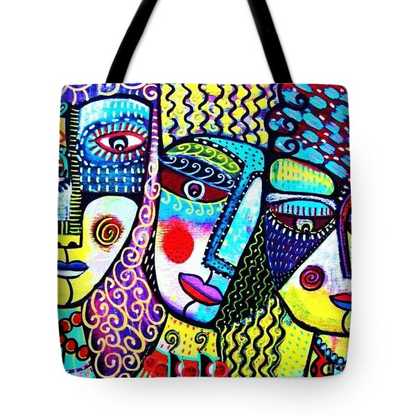 Courtesans On The Boulevard Tote Bag