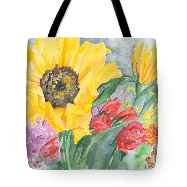 Courtney's Sunflower Tote Bag by Kimberly Lavelle