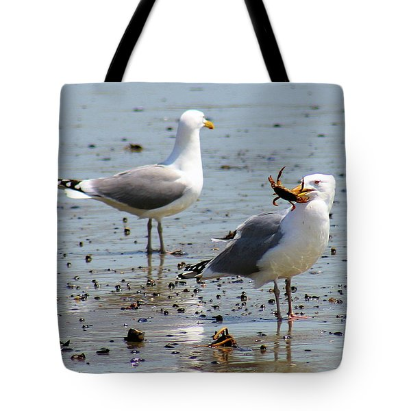 Crab Lunch Tote Bag