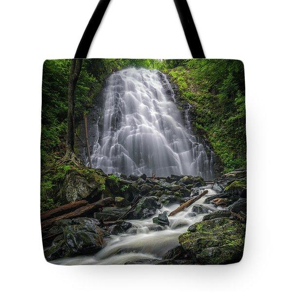 Crabtree Falls North Carolina Tote Bag