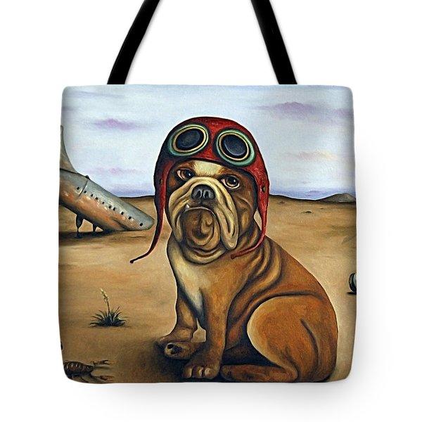 Crash Tote Bag by Leah Saulnier The Painting Maniac