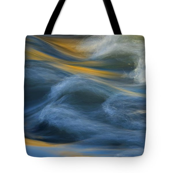 Crash Of Color Tote Bag by Sue Cullumber