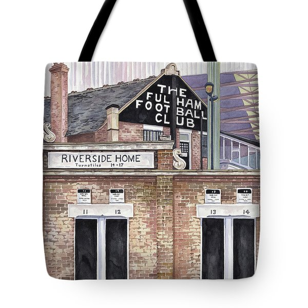 Craven Cottage Tote Bag