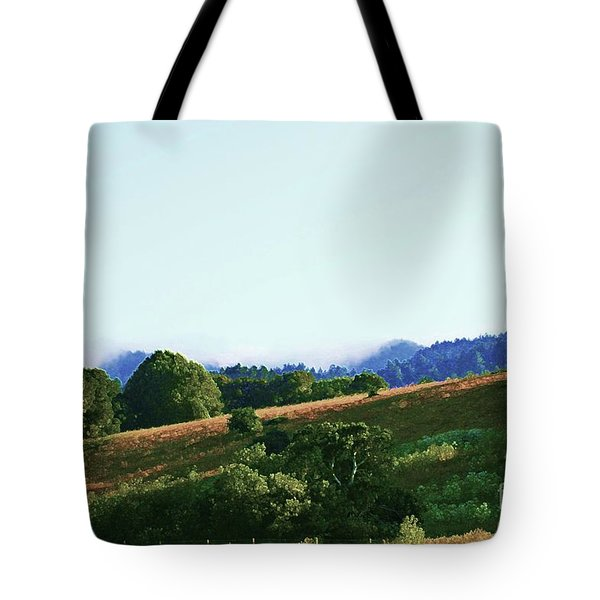 Tote Bag featuring the photograph Creator's Sky Painting by Polly Peacock