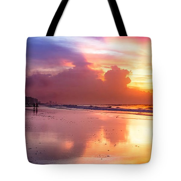 Crescent Beach September Morning Tote Bag