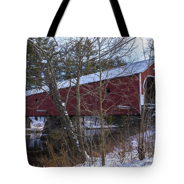 Cresson Covered Bridge. Tote Bag