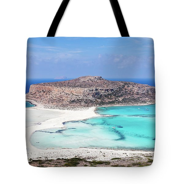 Crete Tote Bag by Evgeni Dinev