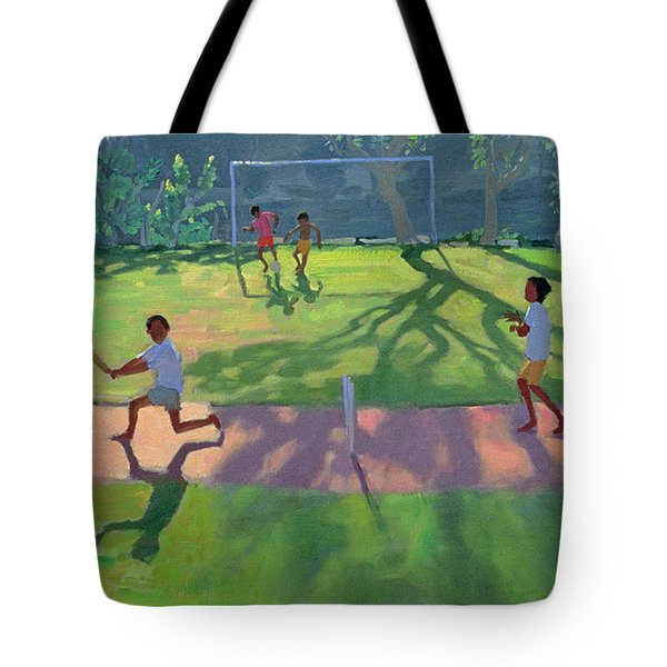 Cricket Sri Lanka Tote Bag by Andrew Macara
