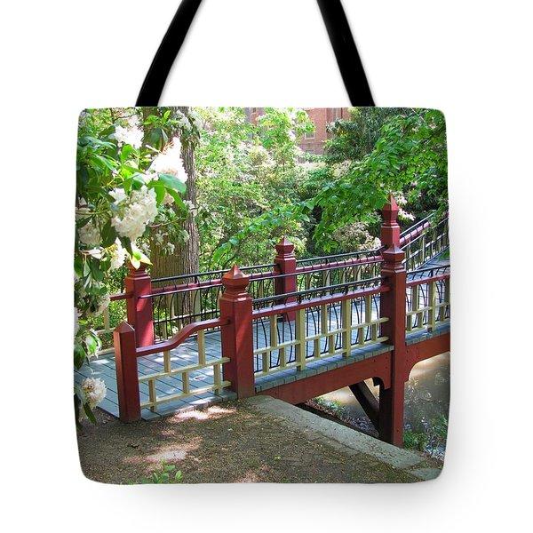 Crim Dell Bridge IIi Tote Bag