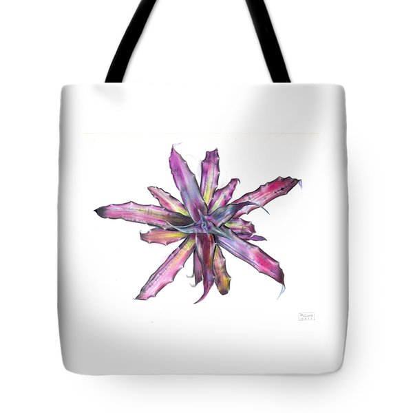 Cryptanthus Tropical Heat Wave Tote Bag