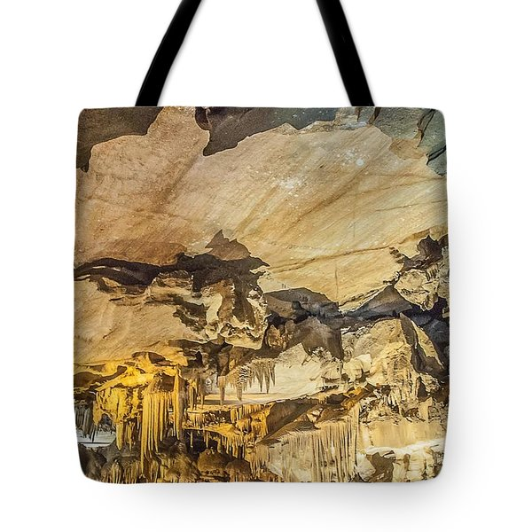 Crystal Cave Sequoia National Park Tote Bag