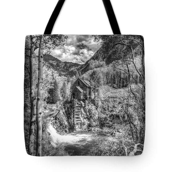 Tote Bag featuring the photograph Crystal Mill 10 by ELDavis Photography