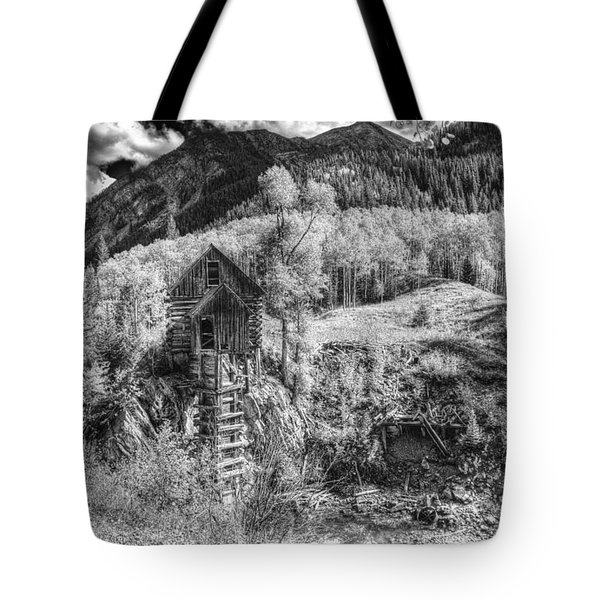 Tote Bag featuring the photograph Crystal Mill 15 by ELDavis Photography