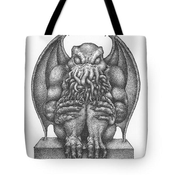 Cthulhu Idol Tote Bag