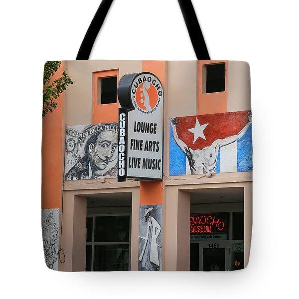 Cubacho Lounge Tote Bag