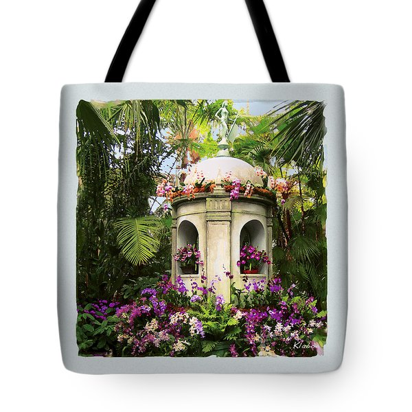 Cuban Orchid Show Tote Bag