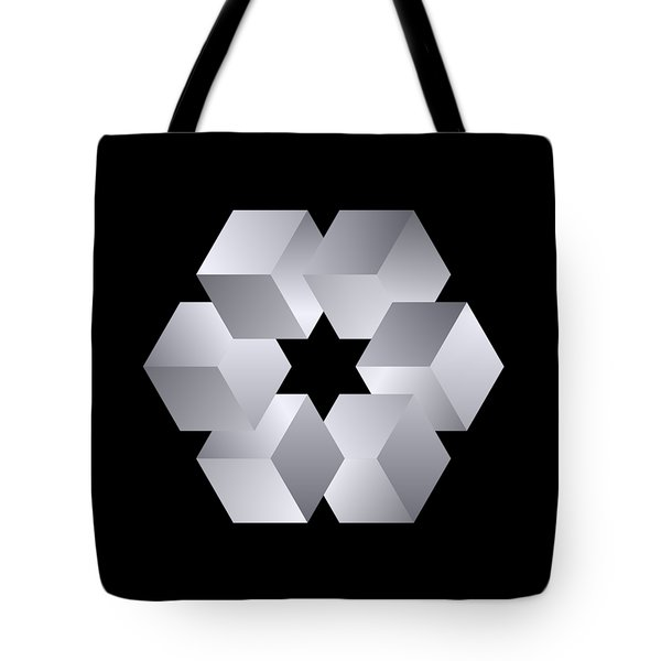 Cube Star Tote Bag