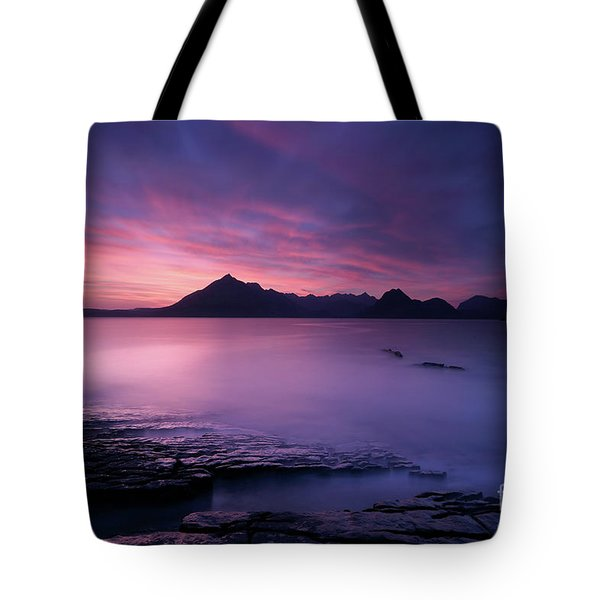 Cuillins At Sunset Tote Bag