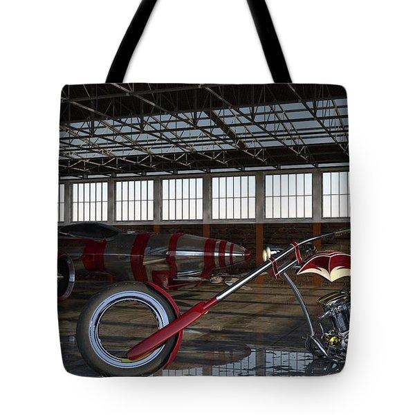 Tote Bag featuring the photograph Custom Chopper  by Louis Ferreira