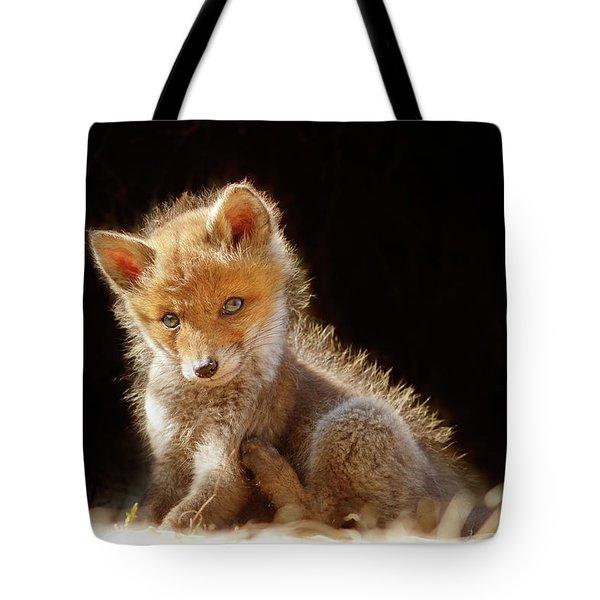 2c0451638d44 Cute Baby Fox Tote Bag Cute Baby Fox. Roeselien Raimond