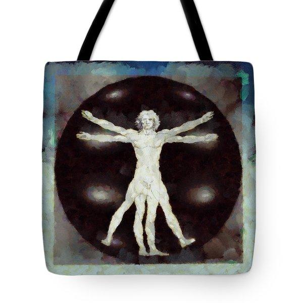 Da Vinci Dude Tote Bag