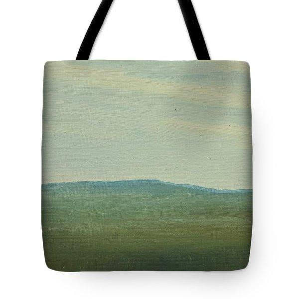 Dagrar Over Salenfjallen- Shifting Daylight Over Distant Horizon 5 Of 10_0029 91x61 Cm Tote Bag