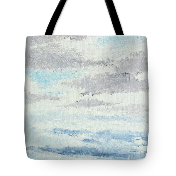 Dagrar Over Salenfjallen- Shifting Daylight Over Distant Horizon 9 Of 10_0029 Tote Bag
