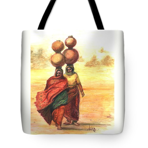 Daily Desert Dance  Tote Bag