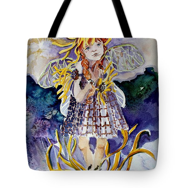 Daisy Tote Bag by Mindy Newman