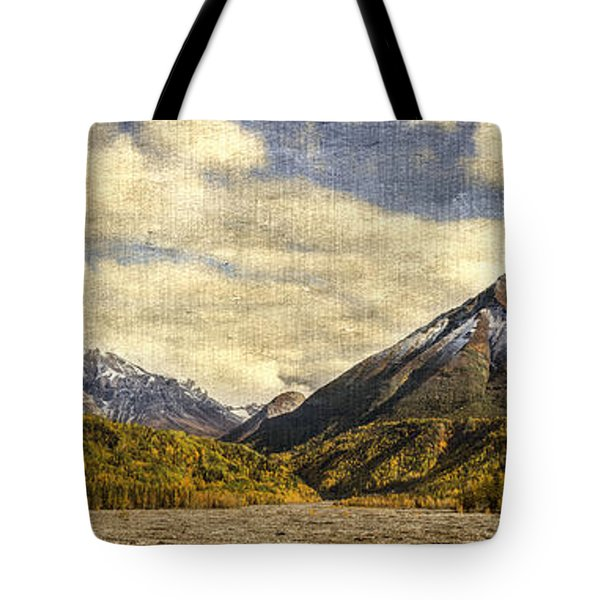 Dan Creek Alaska Tote Bag