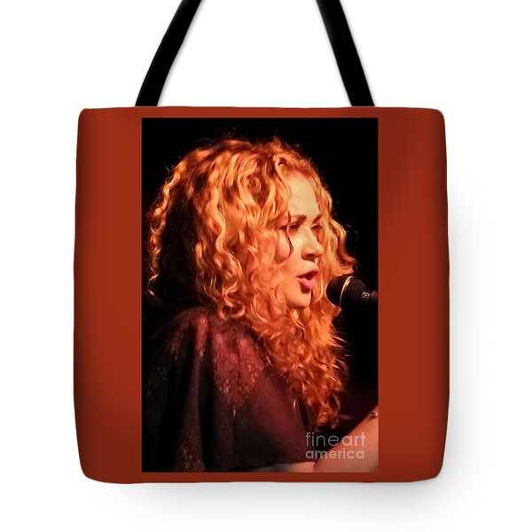 Tote Bag featuring the photograph Dana Fuchs by Jesse Ciazza