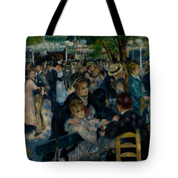 Dance At Le Moulin De La Galette  Tote Bag
