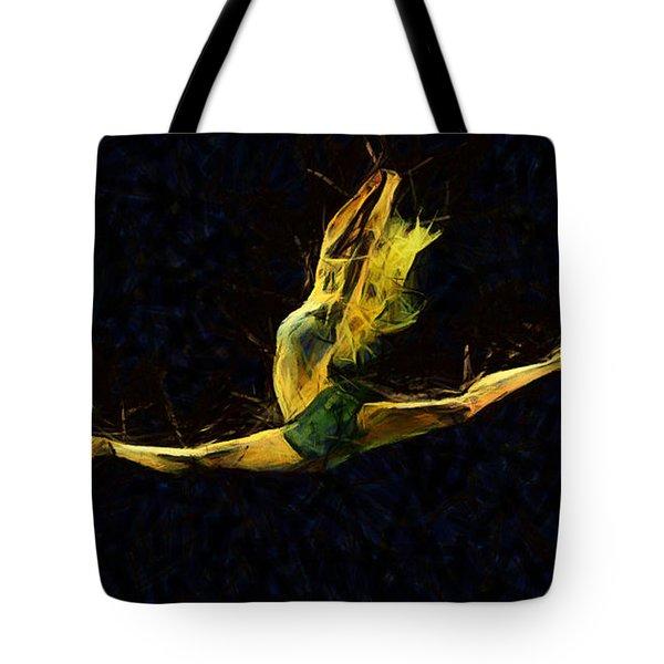 Trance Dance Tote Bag by Sir Josef - Social Critic -  Maha Art