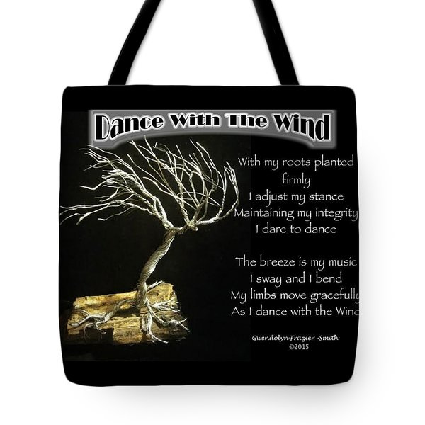 Dance With The Wind Tote Bag