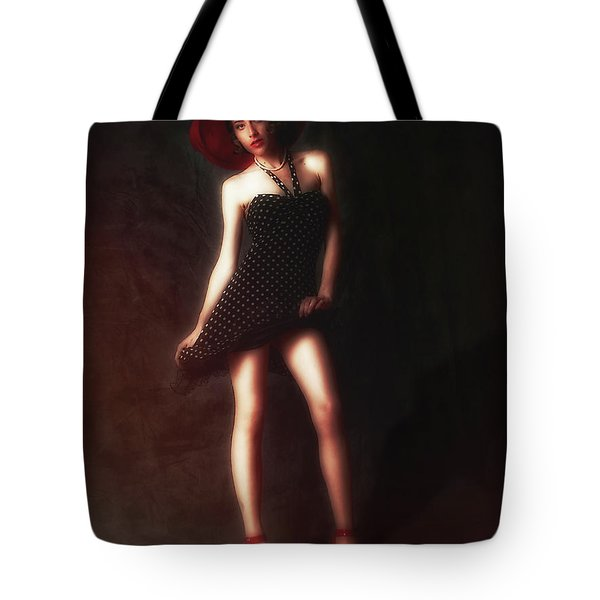 Dancer  ... Tote Bag by Chuck Caramella