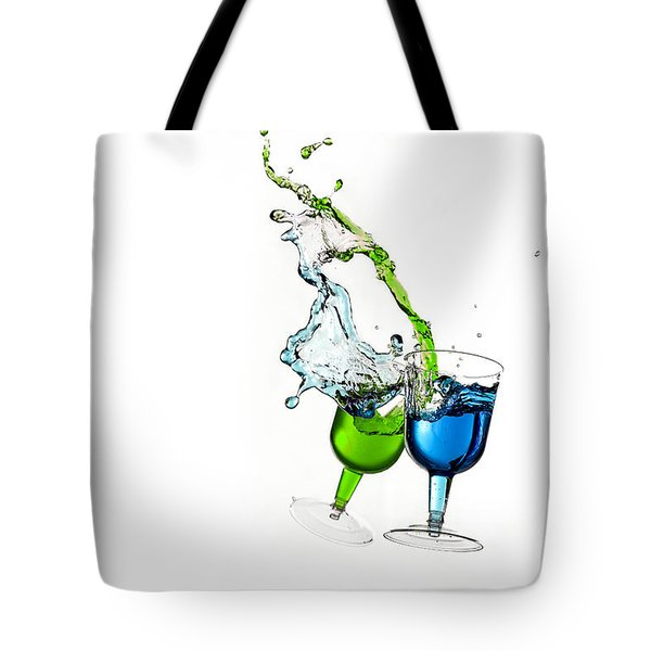 Dancing Drinks Tote Bag