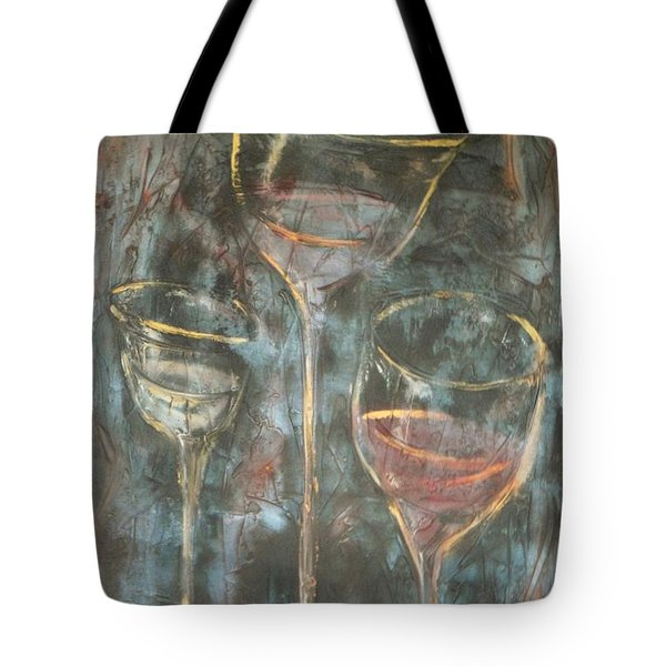 Dancing Glasses Tote Bag