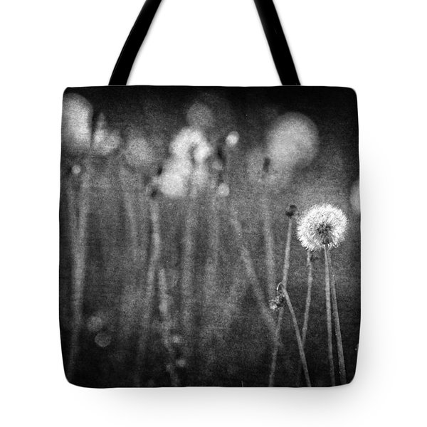 Dandelion Field Tote Bag