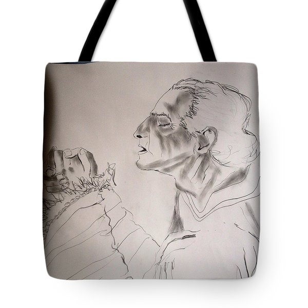 Daniel Praying Tote Bag