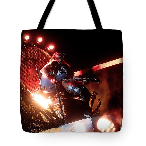 Dave Grohl - Foo Fighters Tote Bag