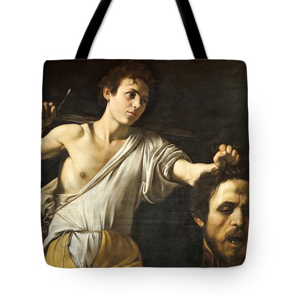 David With The Head Of Goliath Tote Bag