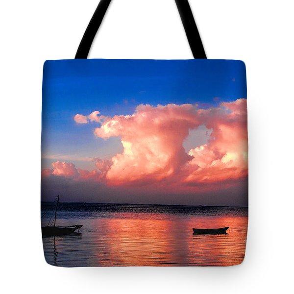 Dawn Tote Bag by Pravine Chester