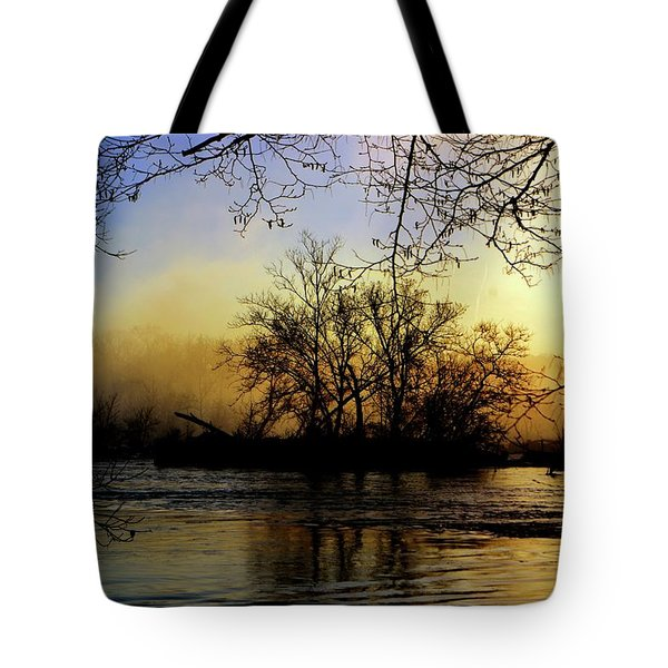 Tote Bag featuring the photograph Morning Dawn by EDi by Darlene