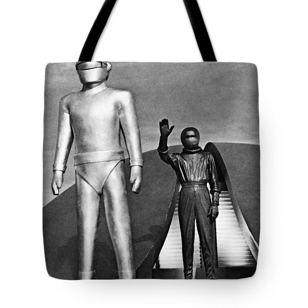 Day The Earth Stood Still Tote Bag by Granger
