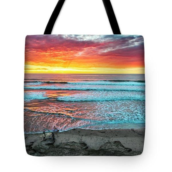 Day's Done Tote Bag