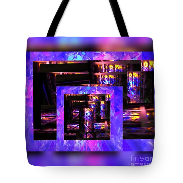 Dazzle Tote Bag by Gayle Price Thomas