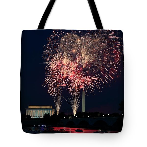 Dc 4th Of July Tote Bag
