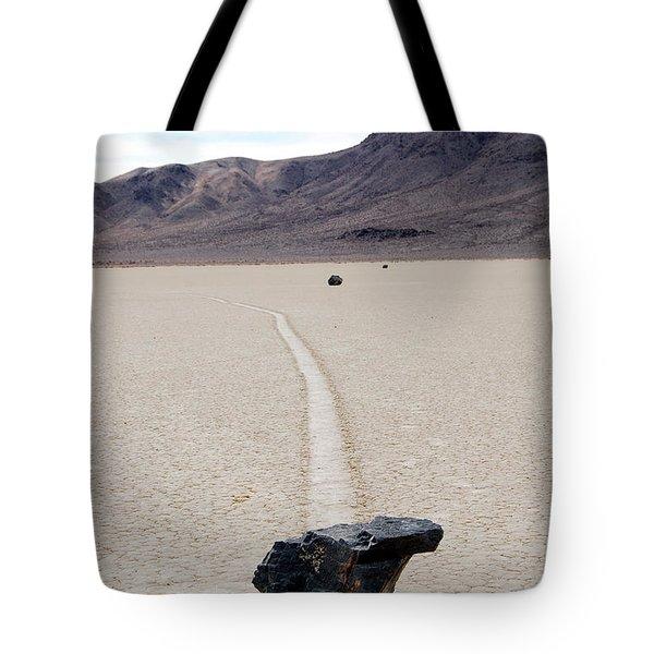 Death Valley Racetrack Tote Bag