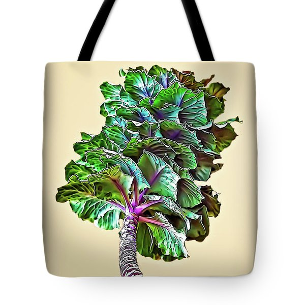 Tote Bag featuring the photograph Decorative Cabbage by Walt Foegelle